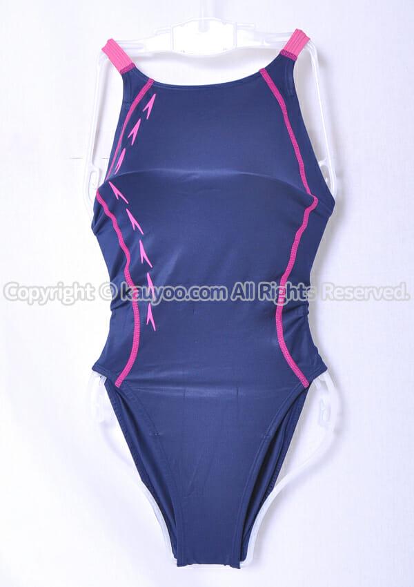 【買取】スピード Fastskin-XT flyingfish エイムカットスーツ競泳水着 SD49B02 紺×ピンク
