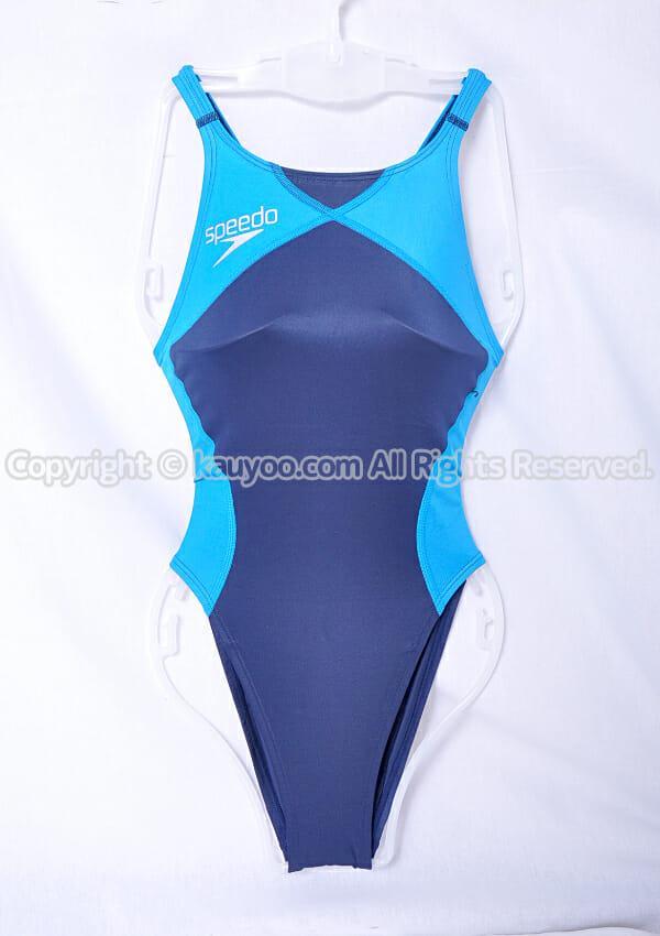 【買取】Speedo スピード flyingfish レースカットスーツ競泳水着 SD48A52L 紺青