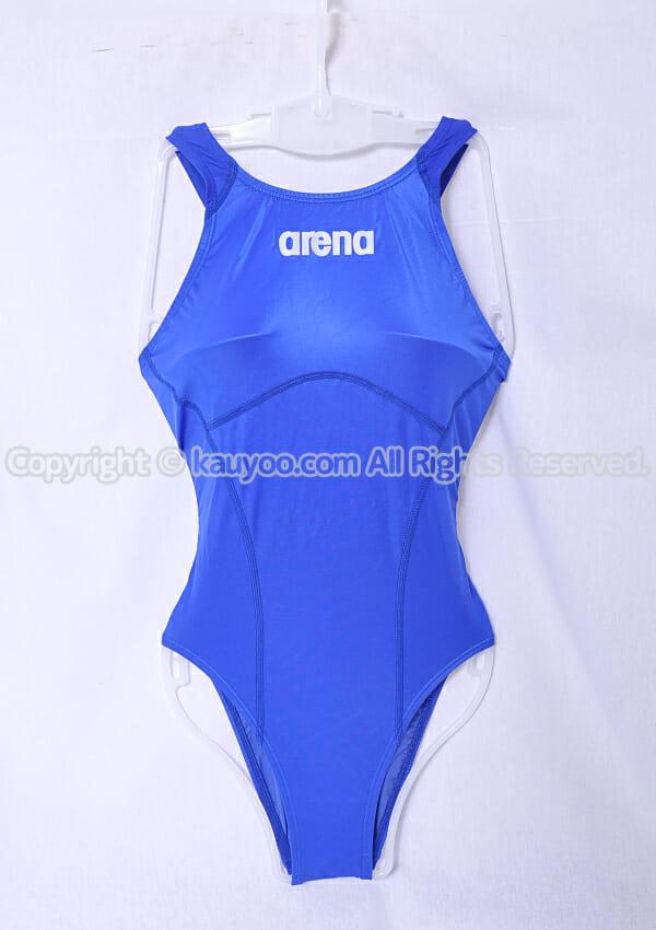 【買取】アリーナ Shin_rev シンレボ ニューリミック LASCLE 競泳水着 ARN-8504W ブルー