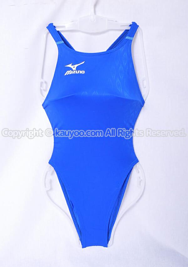 【買取】ミズノ MIZUNO マイティライン 初期モデル ハイカットスーツ競泳水着 85OE-75027 ブルー