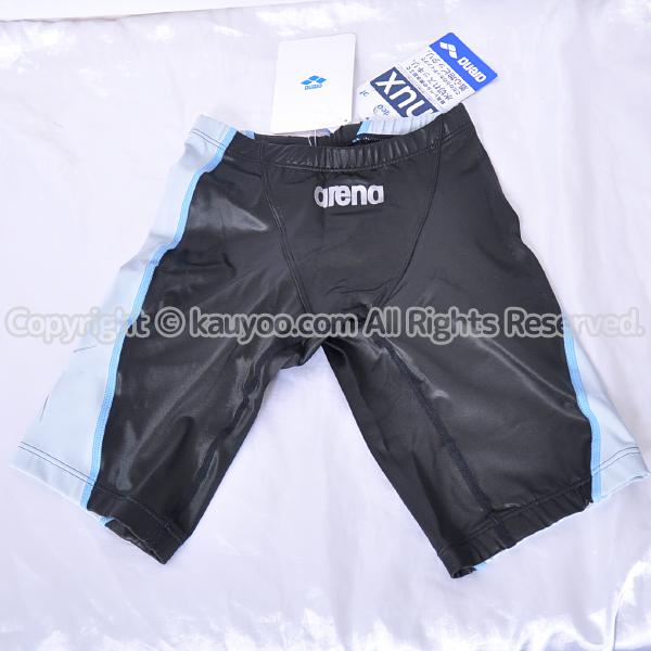 【買取】arena アリーナ 初期NUX ニュークス ハーフスパッツ競泳水着 OAR-5042 黒