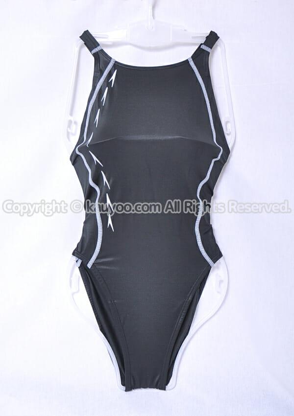 【買取】Speedo スピード flyingfish エイムカットスーツ競泳水着 SD49B02 黒×シルバー