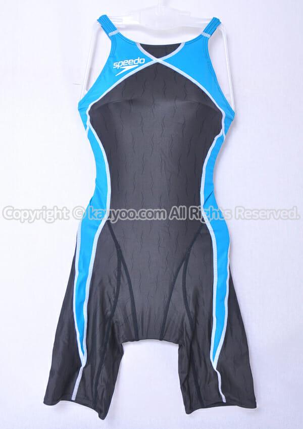 【買取】speedo ファーストスキンXT-II FINA承認 ショートジョン競泳水着 SD40H03F ターコイズ