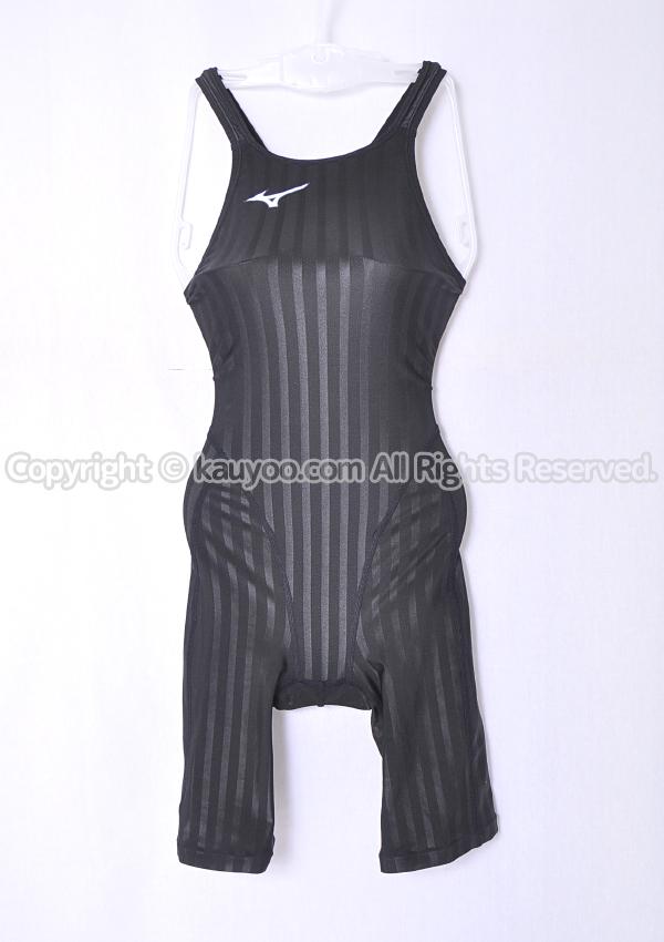 【買取】MIZUNO ストリームアクセラ ソニックフィットAC Fina承認 ハーフスーツ競泳水着 N2MG8221 黒
