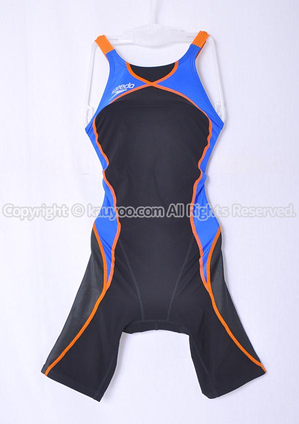 【買取】スピード Fastskin-XT HYBRID FINA承認 ショートジョン競泳水着 SD40H51 黒青