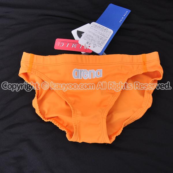 【買取】arena アリーナ nux-D ニュークスD リミック 競パン 競泳水着 ARN-5004 オレンジ