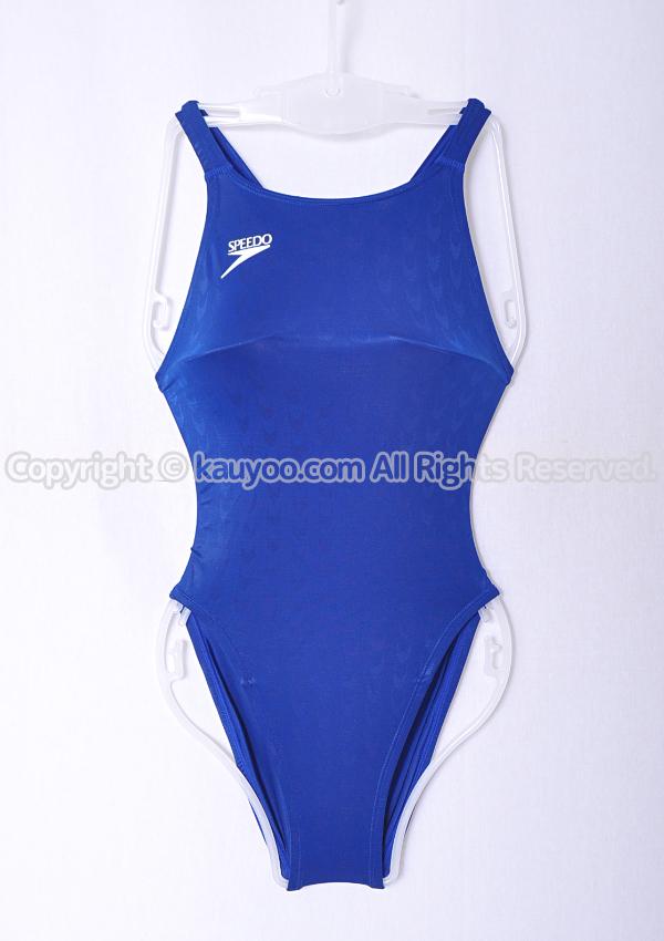 【買取】旧SPEEDO アクアブレードW マーキュライン競泳水着 83OE-30546 コバルトブルー