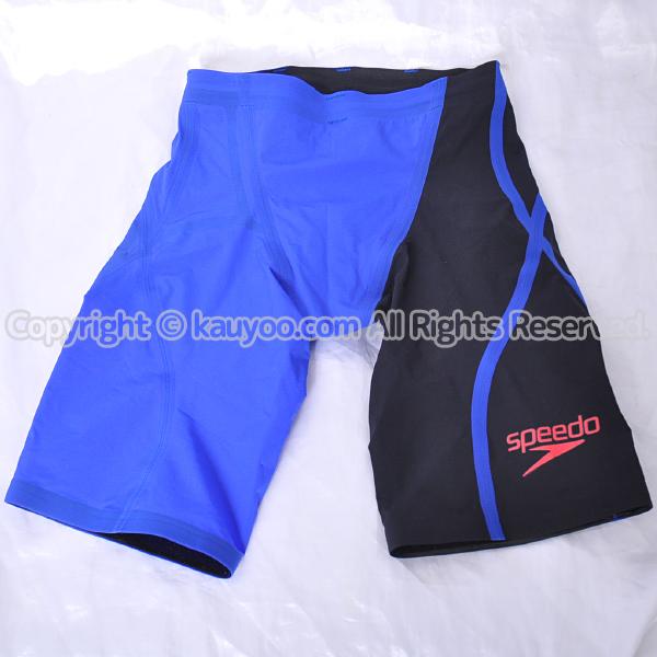 【買取】スピード Fastskin LZR Racer J メンズジャマー スパッツ競泳水着 SD78C03 黒青