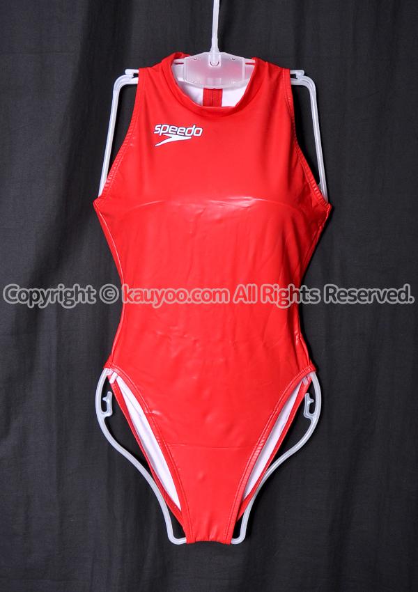 【買取】speedo スピード ウォーターポロ S2000 水球水着 競泳水着 NZ-7556-2 レッド