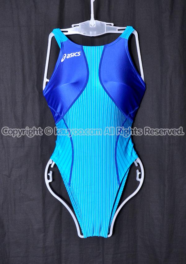 【買取】アシックス TLINER TYPEZERO-X ホールドカット競泳水着 ALS340 ターコイズ