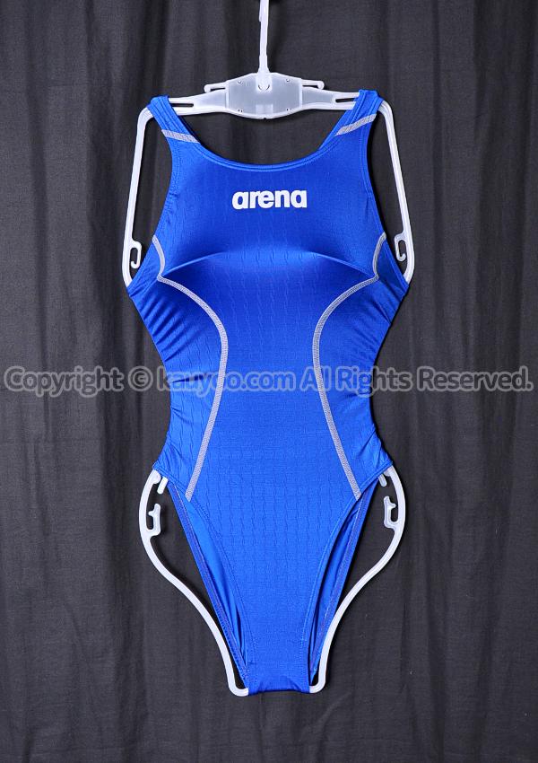 【買取】arena アリーナ X-PYTHON2 Xパイソン2 リミック Fina承認 競泳水着 ARN-7021W DBSV