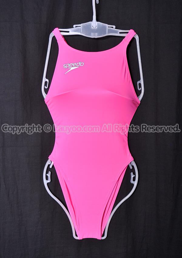【買取】speedo スピード Fastskin XT-W レースカット競泳水着 SD46A02N フラッシュピンク(FP)
