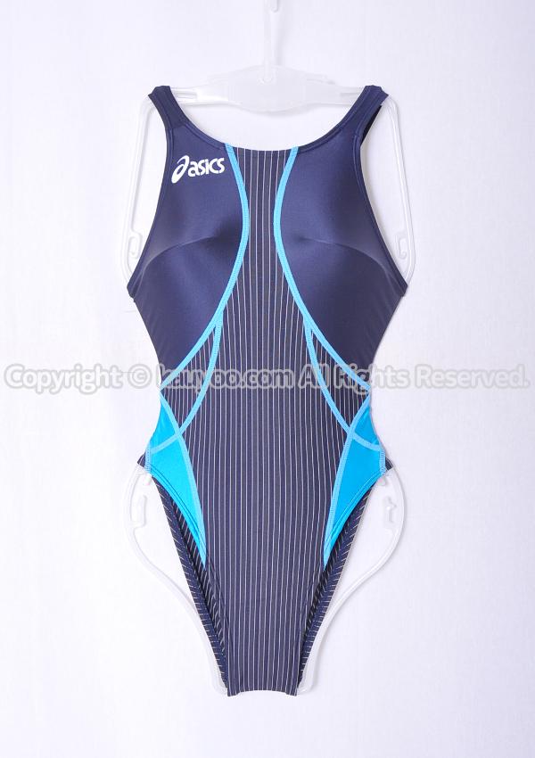【買取】asics アシックス TLINER TYPE ZERO ハイドロSP ALS330 競泳水着 ネイビー