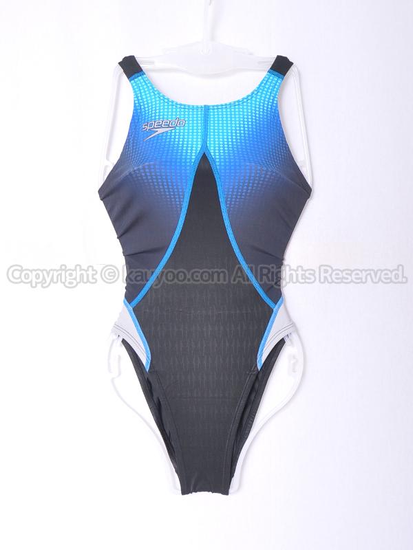 【買取】speedo スピード アクアブレードシグマスター 競泳水着 83OD-70292 ブラック×ブルー