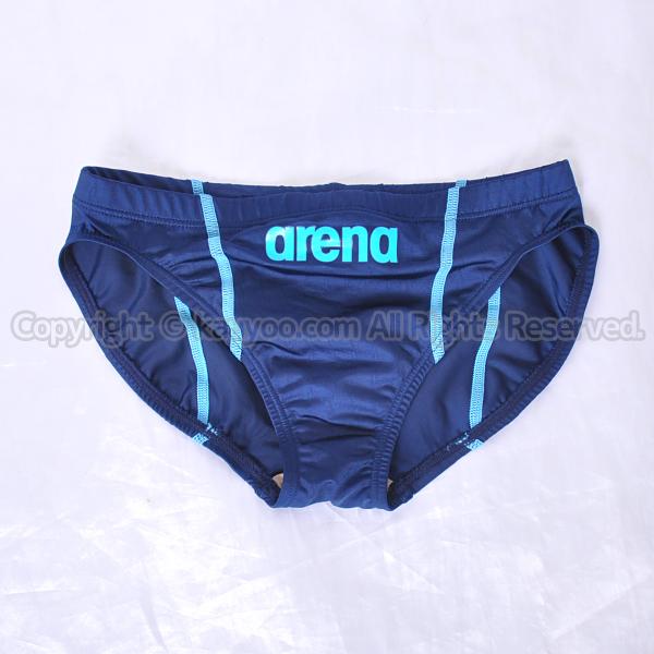 【買取】arena アリーナ X-PYTHON2 リミック fina承認 メンズ競泳水着 競パン ARN-7023M ネイビー