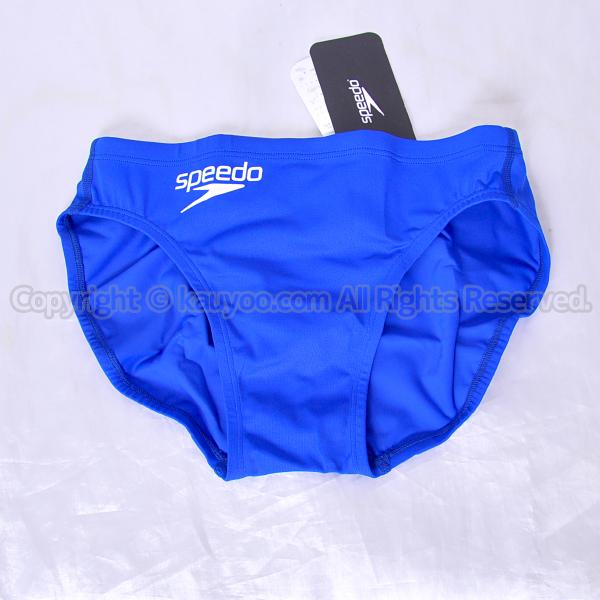 【買取】speedo スピード 360°FLEX メンズショートブーン Fina承認 競パン 競泳水着 SD72A05 ブルー