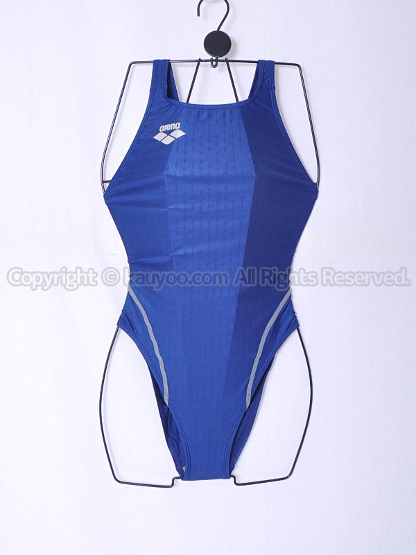 【買取】arena アリーナ nux-f ニュークスF リミック 競泳水着 ARN-6012W ネイビー