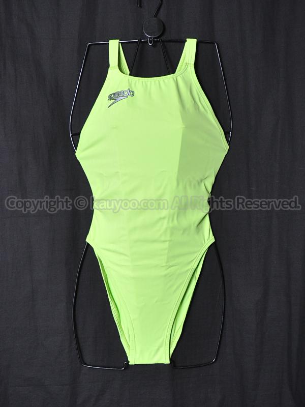 【買取】speedo スピード アクアブレードΣW マーキュライン競泳水着 83OE-60231 アップルグリーン