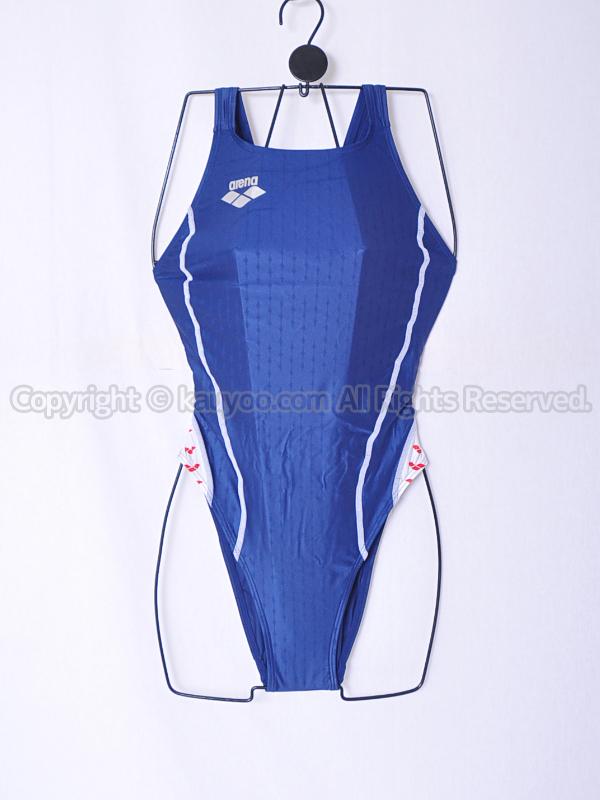 【買取】arena アリーナ nux-f ニュークスF リミック ハイカット競泳水着 FAR-7515WH NVWR