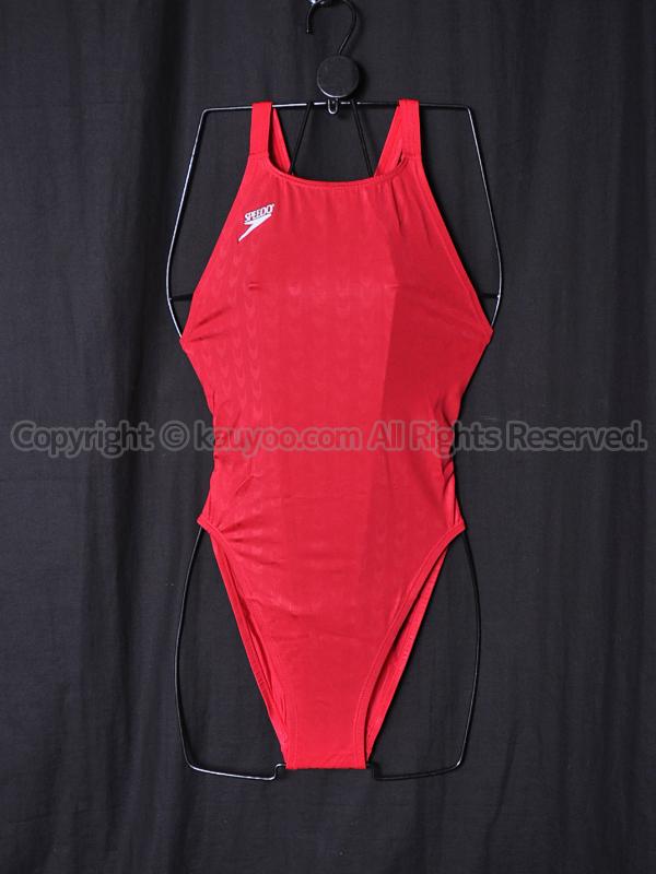 【買取】旧SPEEDO スピード アクアブレード2 マーキュライン競泳水着 83OE-90263 レッド