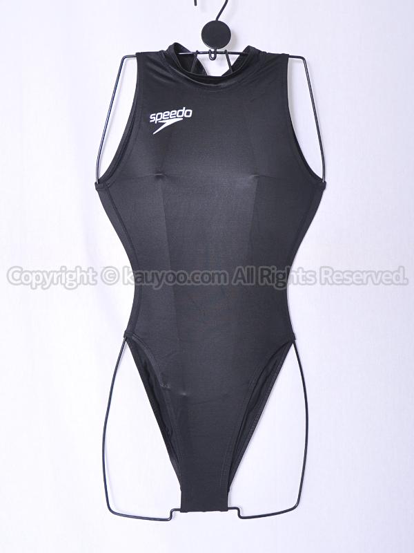【買取】speedoアクアスペックS2000ハイカット競泳水着NZ-7556B光沢ブラック