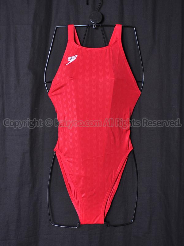 【買取】旧SPEEDOスピード83OE-90263アクアブレード2マーキュライン競泳水着Cレッド