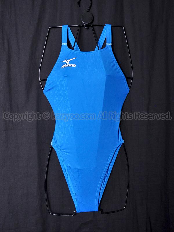 【買取】MIZUNOミズノ初期マイティライン85OE-9888ハイカット競泳水着ブルー