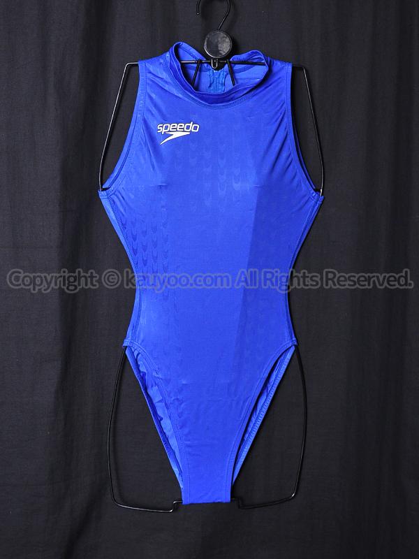 【買取】speedoスピードS2000アクアブレード2ハイカット競泳水着83OF-10827ロイヤルブルー