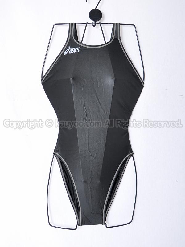 【買取】asicsアシックスSPLASHERスプラッシャーALS415ホールドカット競泳水着ブラック