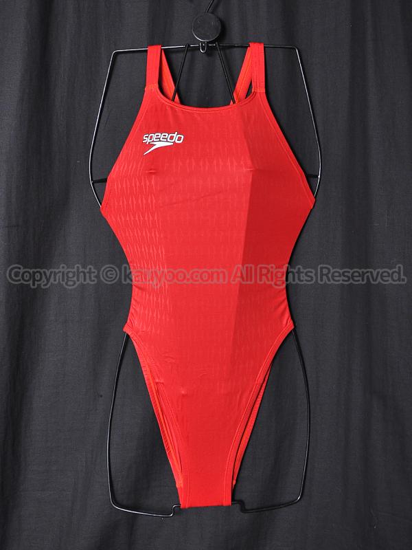 【買取】speedoスピード83OE-60061アクアブレードΣマーキュライン競泳水着ブライトレッド