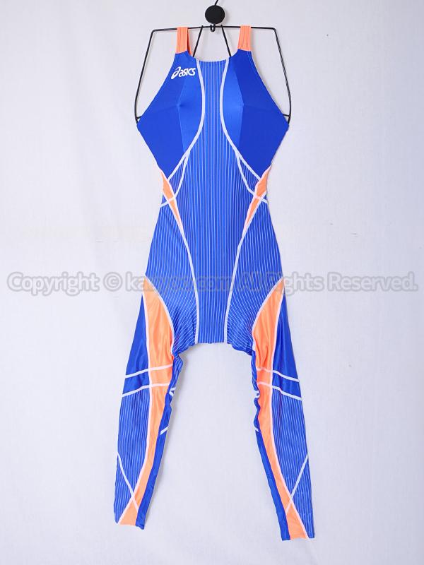 【買取】asicsアシックスTLINER TYPE ZEROハイドロSPフルチューブ競泳水着ALS313ブルー