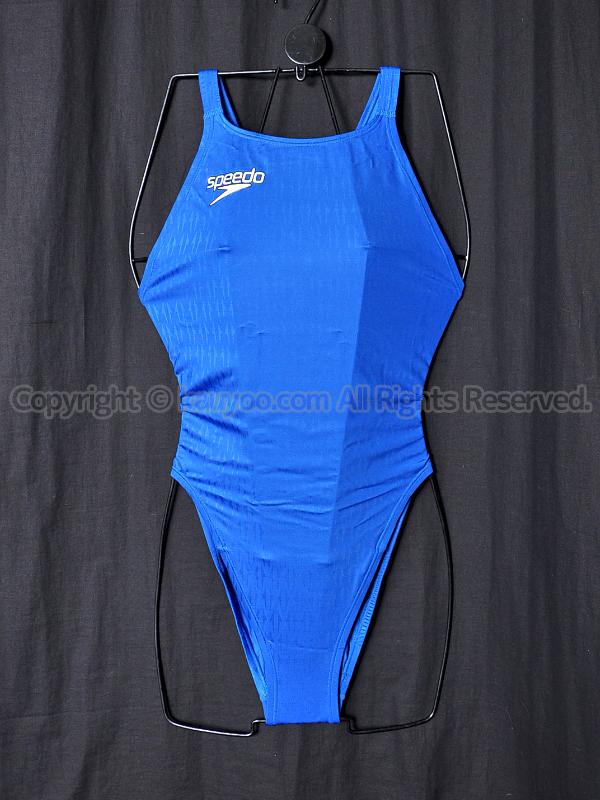 【買取】speedoスピード83OE-60027アクアブレードΣマーキュライン競泳水着ロイヤルブルー