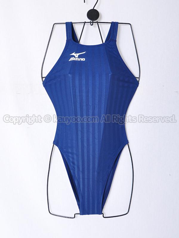 【買取】mizunoミズノN2MA622114ストリームアクセラFina承認ハイカット競泳水着ネイビー