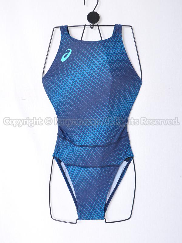 【買取】asicsアシックスW'SコアバランスレギュラーAS8056マイティカット競泳水着ピーコート