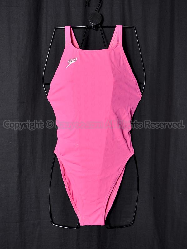 【買取】旧SPEEDOスピード83OE-15364アクアブレードWマーキュライン競泳水着ピンク