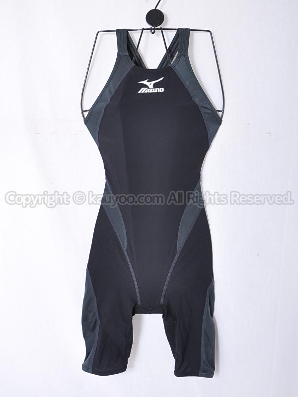 【買取】mizunoミズノMX-01ハーフスーツ競泳水着Fina承認85OC-008ブラック×チャコール
