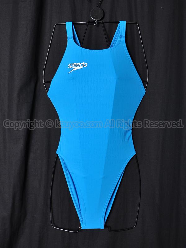 【買取】speedoスピードSD41A51QアクアブレードΣ+レースカット競泳水着ターコイズ