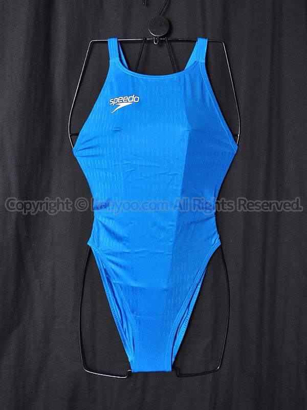 【買取】speedoアクアブレードΣマーキュライン競泳水着Cブルー83OE-60022