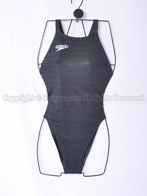 【買取】speedoスピード83OE-60009アクアブレードΣマーキュライン競泳水着ブラック