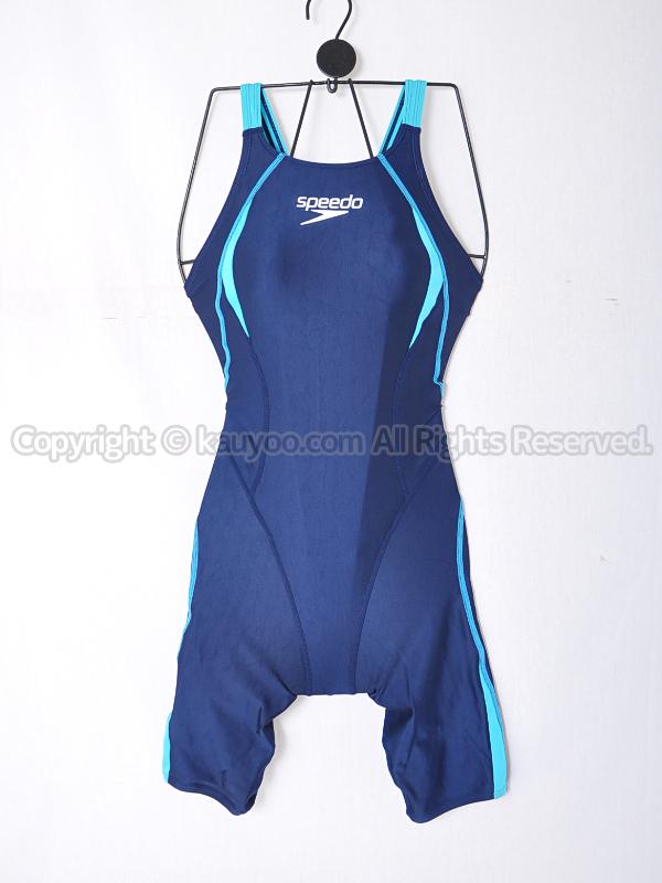 【買取】speedoスピードFLEX ΣフレックスシグマSD40H53ショートジョン競泳水着ネイビー
