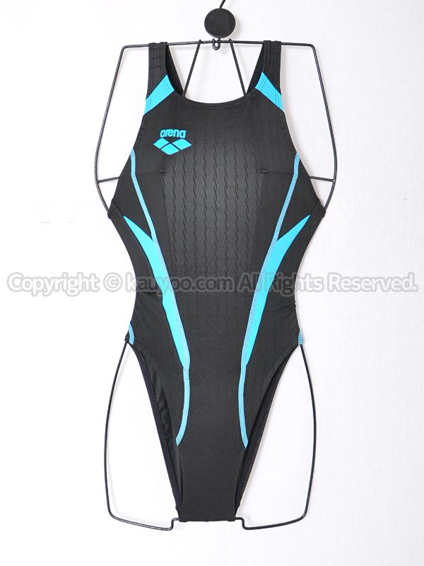 【買取】arenaアリーナX-PYTHONリミックFina承認ハイカット競泳水着OAR-2507WCオーダーBK06