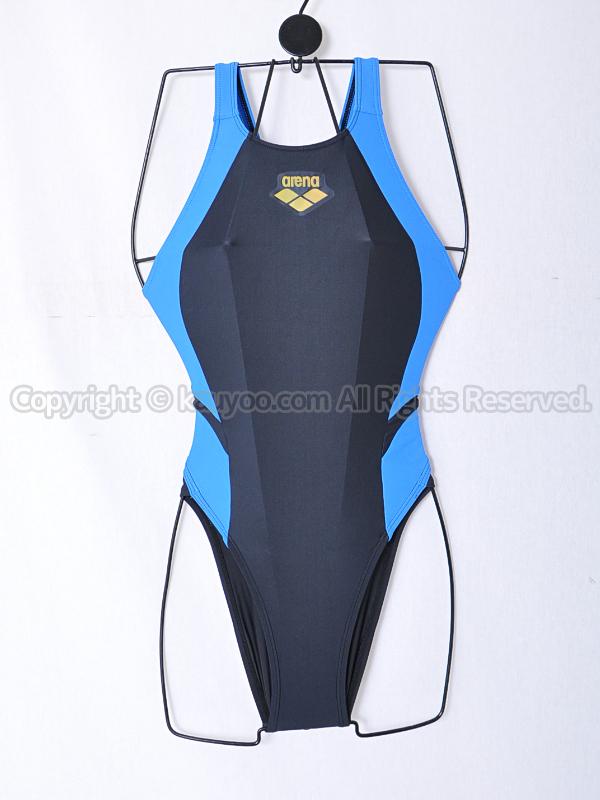 【買取】arenaアリーナSTRUSHストラッシュARN-5454Wリミック競泳水着BGBU