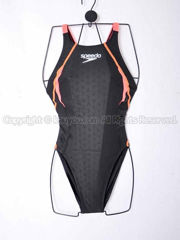 【買取】speedoスピードFLEXΣエイムカット4競泳水着Fina承認SD46B531サイレンレッド