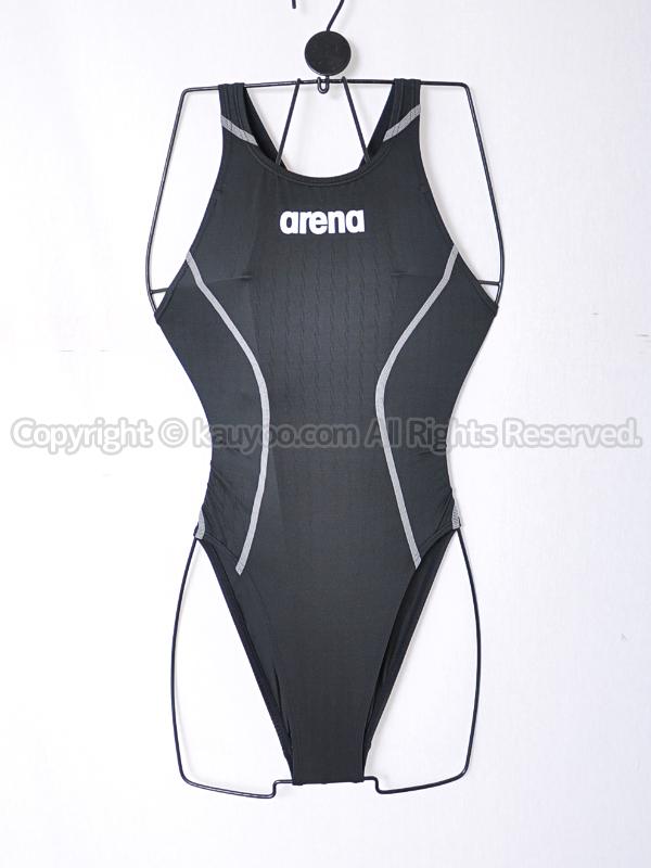 【買取】arenaアリーナX-PYTHON2リミックFina承認ARN-7021W競泳水着BKSV