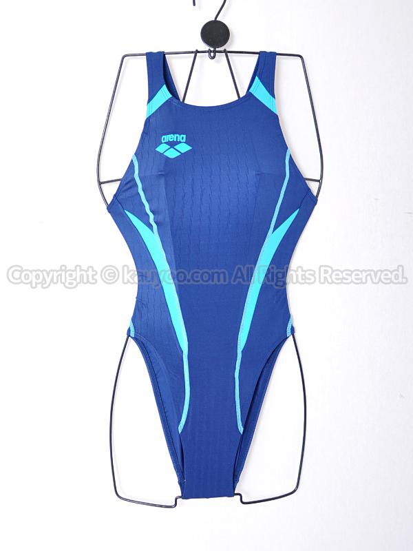 【買取】アリーナX-PYTHONリミックFina承認ハイカット競泳水着OAR-2507WCオーダーNV06