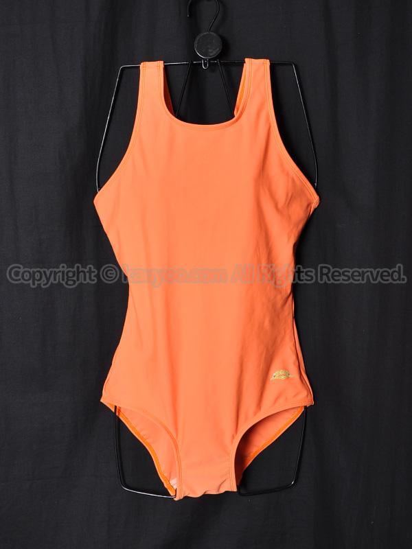 【買取】富士ヨットYACHT女子スクール水着SSW43オレンジ