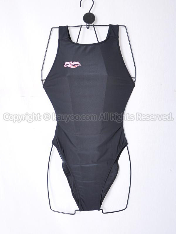 【買取】REALISEリアライズ 黒シースルー ノーマルバック競泳水着風コスN-002ブラック