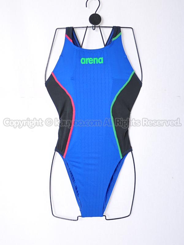 【買取】arenaアリーナX-PYTHON2限定カラーFAR-9021Wリミック競泳水着イタリアITA
