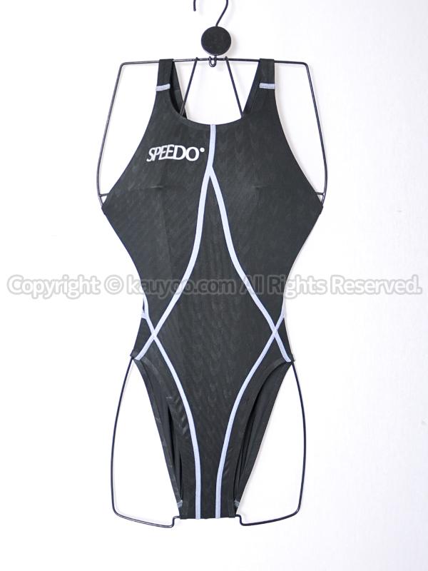 【買取】旧SPEEDOスピードG-SUITSアクアブレード2Rハイレグ競泳水着83OC-10209ブラック