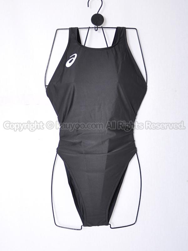 【買取】asicsアシックスALS85TハイドロCDハイカット競泳水着ブラック黒